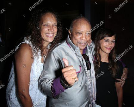 Jolie Jones Levine, Quincy Jones and Rashida Jones