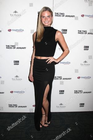 Editorial image of 'The Two Faces of January' film premiere, New York, America - 17 Sep 2014