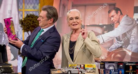 Alan Titchmarsh and Shirley Eaton