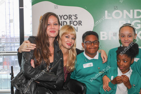 Editorial picture of Mayor's Fund for London and Magic 105.4 live radio breakfast show to promote London's Biggest Breakfast, City Hall, London, Britain - 18 Sep 2014
