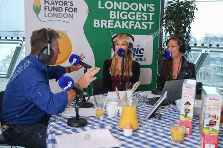 Neil Fox, Catherine Pierce and Allison Pierce