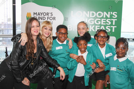 Editorial photo of Mayor's Fund for London and Magic 105.4 live radio breakfast show to promote London's Biggest Breakfast, City Hall, London, Britain - 18 Sep 2014