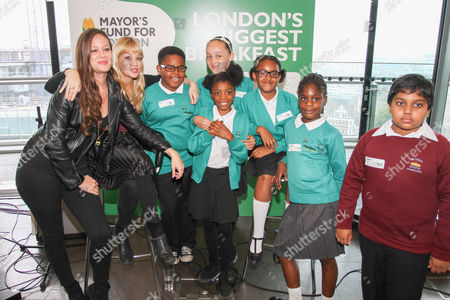 Editorial image of Mayor's Fund for London and Magic 105.4 live radio breakfast show to promote London's Biggest Breakfast, City Hall, London, Britain - 18 Sep 2014