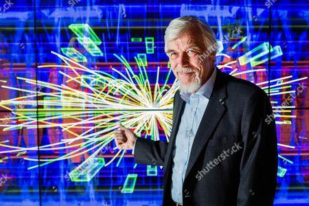 Stock Photo of Professor Rolf-Dieter Heuer, Director General of CERN