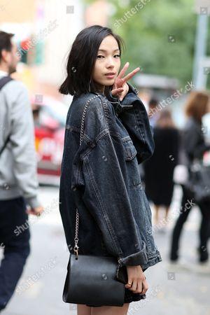 Stock Photo of Ju Xiaowen