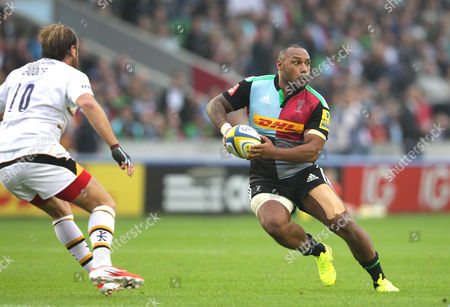 Editorial image of Harlequins v Wasps, Aviva Premiership Rugby, Twickenham Stoop, London, Britain - 20 Sep 2014