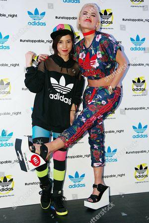 Riisa Naka and Rita Ora