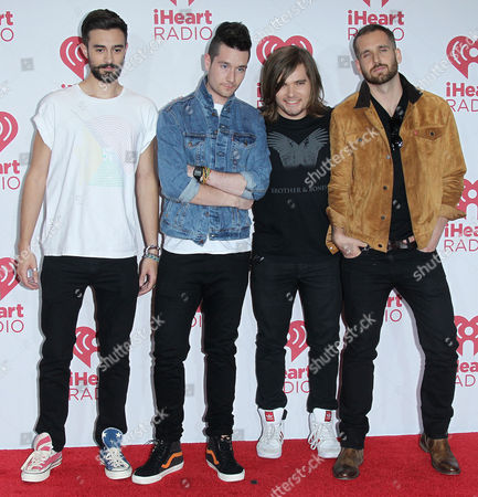 Kyle J. Simmons, Dan Smith, Chris 'Woody' Wood and William Farquarson of Bastille