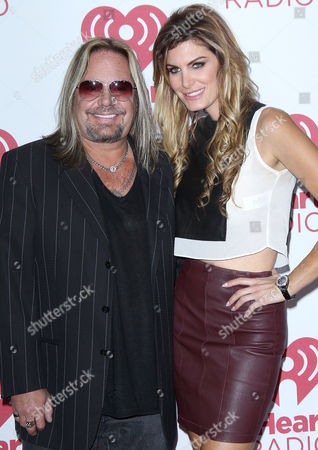 Vince Neil and Rain Andreani