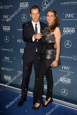 Oliver Bierhof and wife Klara