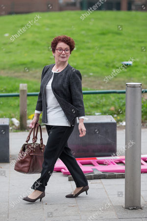 Outgoing Salford MP Hazel Blears leaves the service