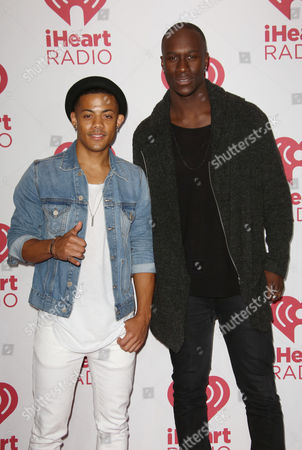 Stock Picture of Nico & Vinz - Nico Sereba and Vincent Dery