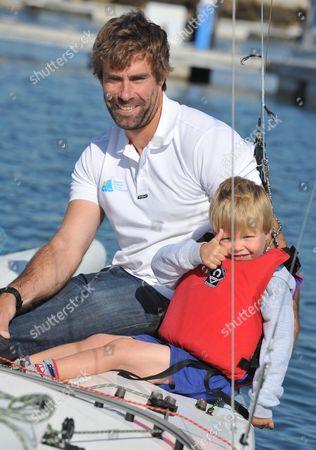 Editorial image of Bart's Bash Charity Sailing race at the National Sailing Academy, Portland, Dorset, Britain - 21 Sep 2014