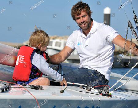 Editorial photo of Bart's Bash Charity Sailing race at the National Sailing Academy, Portland, Dorset, Britain - 21 Sep 2014