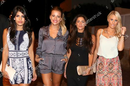 Editorial photo of 'The Only Way is Essex' cast arrivals at Ocean beach club, Ibiza, Spain - 21 Sep 2014