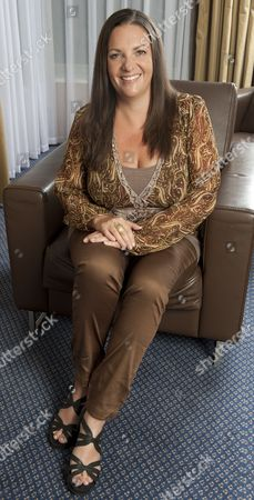 Stock Picture of Kate Elphick Daughter Of The Lateactor Michael Elphick For Frances Hardy Interview.