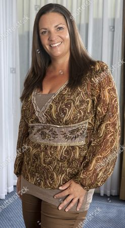 Stock Image of Kate Elphick Daughter Of The Late Actor Michael Elphick For Frances Hardy Interview.