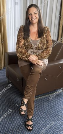 Stock Photo of Kate Elphick Daughter Of The Late Actor Michael Elphick For Frances Hardy Interview.