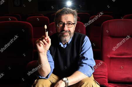 Stock Photo of London United Kingdom - March 30: Portrait Of American Video Game Designer Warren Spector Photographed During An Interview In London On March 30 2012. Spector Is Best Known For Working On The Deus Ex Series Of Video Games