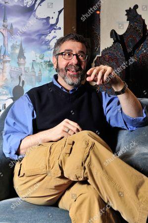 Editorial picture of Warren Spector Portrait Shoot