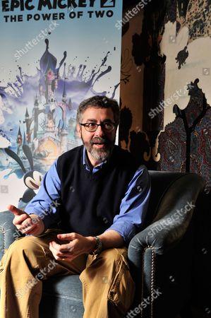 Editorial image of Warren Spector Portrait Shoot