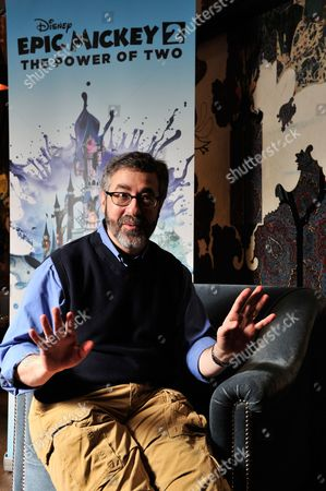 London United Kingdom - March 30: Portrait Of American Video Game Designer Warren Spector Photographed During An Interview In London On March 30 2012. Spector Is Best Known For Working On The Deus Ex Series Of Video Games