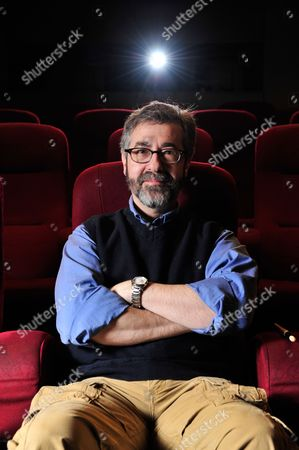 Stock Picture of London United Kingdom - March 30: Portrait Of American Video Game Designer Warren Spector Photographed During An Interview In London On March 30 2012. Spector Is Best Known For Working On The Deus Ex Series Of Video Games