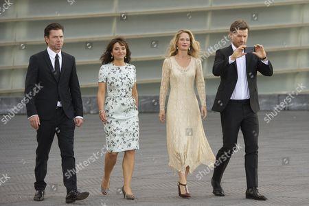 Nikolaj Lie Kaas, Susanne Bier, Maria Bonnevie and Nikolaj Coster-Waldau