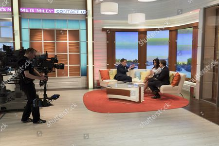 Editorial picture of 'Good Morning Britain' TV Programme, London, Britain. - 22 Sep 2014