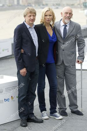 Michael Sturminger, Veronica Ferres and John Malkovich