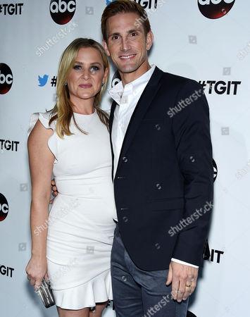 Jessica Capshaw and Christopher Gavigan