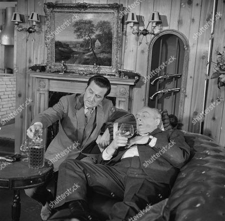 Patrick Macnee and Frank Gatliff