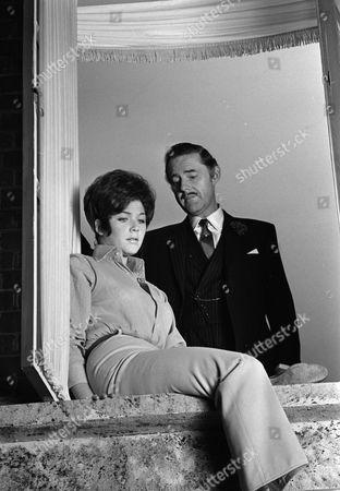 Linda Thorson and Terence Alexander
