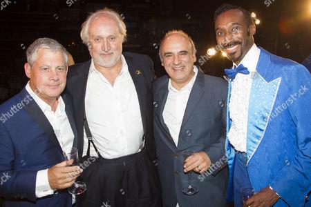 Cameron Mackintosh (Producer), Nick Allott (Producer), Peter Polycarpou (John) and Nolan Frederick ()