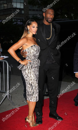 Alexis Welch and Amar'e Stoudemire
