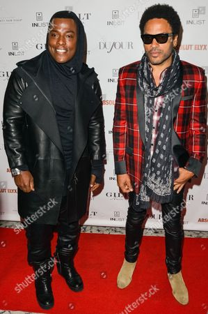 Editorial photo of DuJour magazine party for Lenny Kravitz, New York, America - 22 Sep 2014