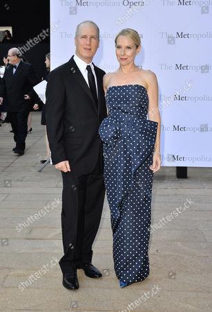 Eric Slovin and Amy Ryan