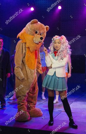 Editorial image of Teh Internet is Serious Business by Tim Price. Play performed at the Royal Court Theatre. London. Britain, Britain - 22 Sep 2014