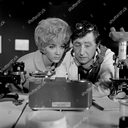 Stock Image of Linda Thorson and Timothy Bateson