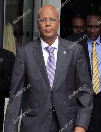 Abdiweli Sheikh Ahmed, Somalian Prime minister