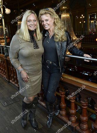 Mary Stavin and Kristina Wayborn
