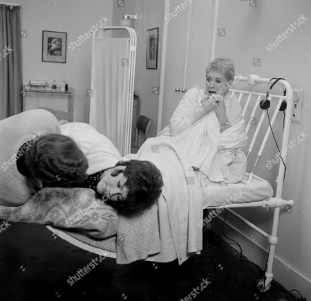 Stock Picture of Linda Thorson and Sally Nesbitt
