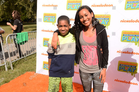 Editorial image of Nickelodeon's 11th Annual Worldwide Day of Play, Brooklyn, New York, America - 20 Sep 2014