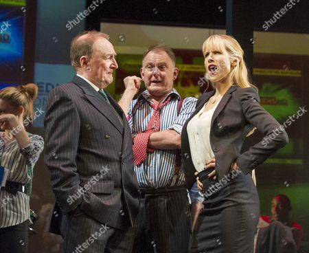 Dermot Crowley as Paschal O'Leary, Lucy Punch as Paige Britain, Robert Glenister as Wilson Tickel