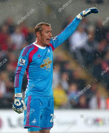 Swansea City goalkeeper Gerhard Tremmel