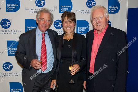 William Waldegrave, Caroline Waldegrave - Trustee of Dimbleby Cancer Care, David Dimbleby