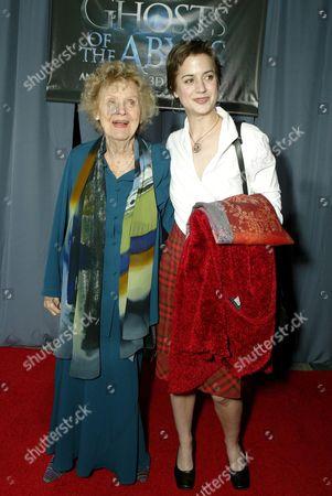 Gloria Stuart and Nicole Marx