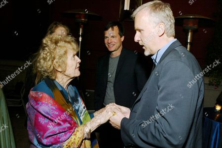 Gloria Stuart & James Cameron