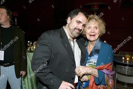 Jon Landau and Gloria Stuart