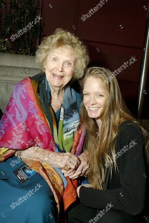 Gloria Stuart and Suzy Amis